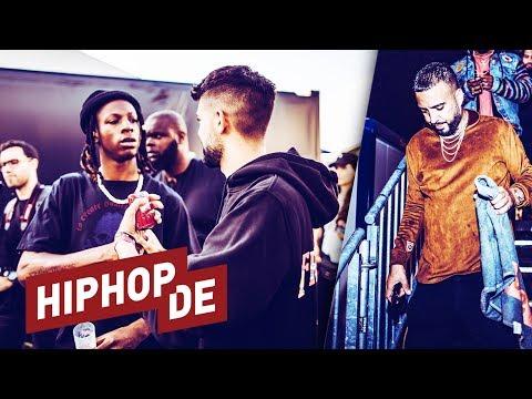 French Montana, Pharrell, Joey Bada$$ & mehr: Tag 1 beim Frauenfeld 2018 – Backstage on YouTube