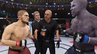 Khabib Nurmagomedov vs. El Cucuy (EA sports UFC 3) - CPU vs. CPU