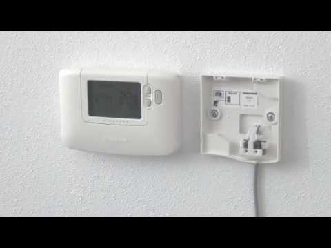 Chronotherm Wireless monteren en aansluiten op R8810 ...