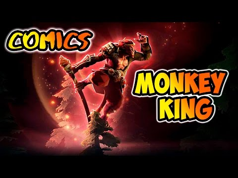 MONKEY KING - NEW Hero in Dota 2 patch 7.00 official comic