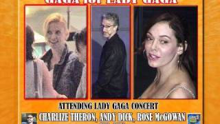 Charlize Theron, Andy Dick, Rose McGowan GAGAS1300_081210