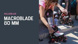 Rollerblade Damen MACROBLADE 80 W Inliner
