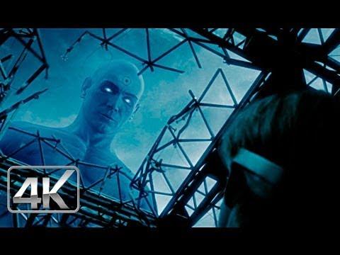 Dr Manhattan Vs Ozymandias LATINO 4k (Ultra-HD) Watchmen 2009