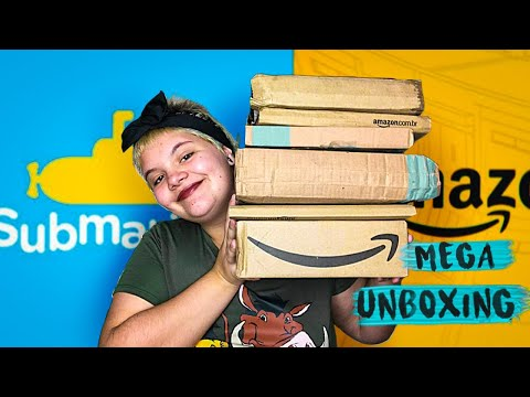 unboxing-da-amazon-day-+-compras-da-submarino- -lívia-kruel