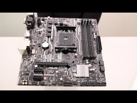 Unboxing ASUS Prime B350M-A (Socket AM4)