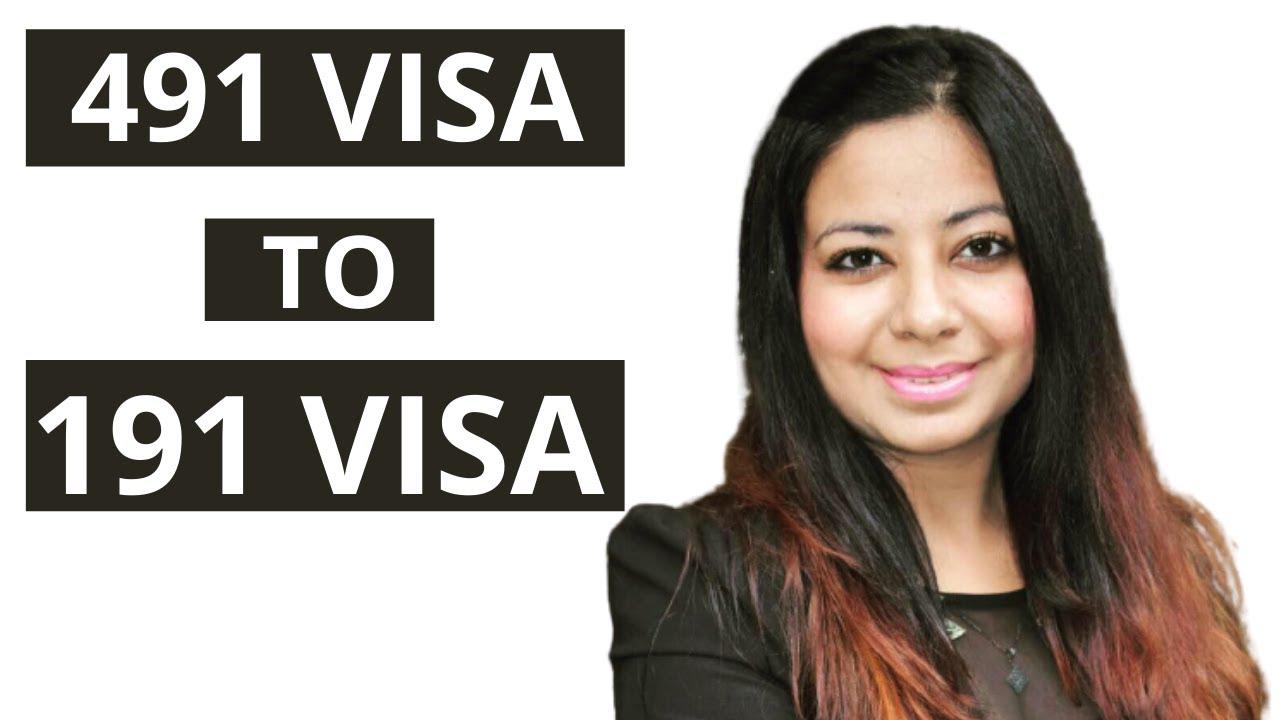 491 visa to 191 visa pathway