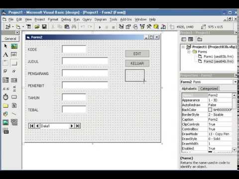 Cara Membuat Module Pada Visual Basic