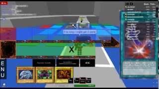 a roblox yugioh duel