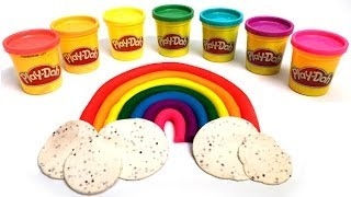 Play Doh Rainbow playdo Arcoiris by Lababymusica
