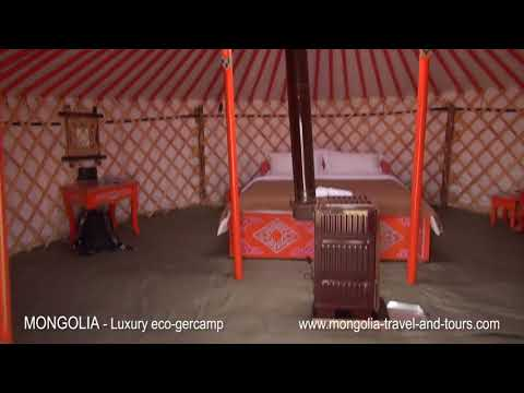 MONGOLIA - Luxury and eco friendly ger (yurt) camp - By Mongolia Travel & Tours