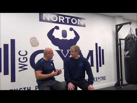 Gordon Towner   Norton Gym Manager