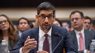 Google CEO Sundar Pichai puts on a good front for his company: Rep. Collins thumbnail