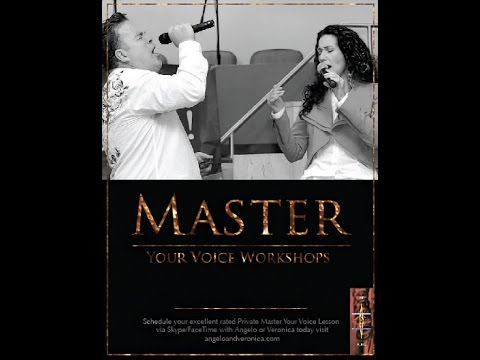 Angelo & Veronica-Master Your Voice Lessons for Singers! (Periscope)