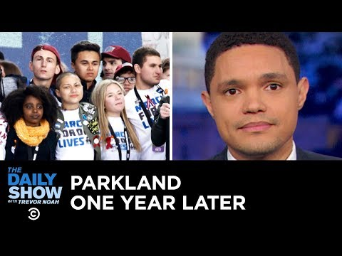 A Year After the Parkland Shooting, the Fight for Sensible Gun Control Continues   The Daily Show