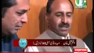 Anjum Aqeel Khan PMLN , Mian Aslam JI Faisal Sakhi Butt PPPP in Live with Talat
