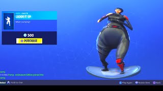 FORTNITE LAUGH IT UP EMOTE BASS BOOSTED *(EAR RAPE)