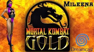 Mileena - Mortal Kombat Gold - Dreamcast Playthrough