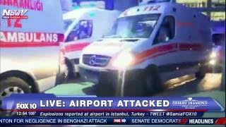 BREAKING NEWS: Two Explosions at Ataturk Airport in Istanbul, Turkey - VIDEO FROM SCENE