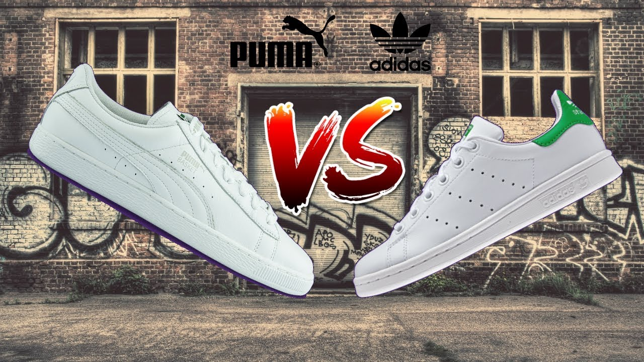 puma suede vs adidas stan smith