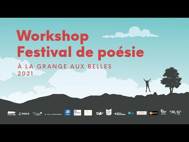 Festival de poésie - Grange aux Belles