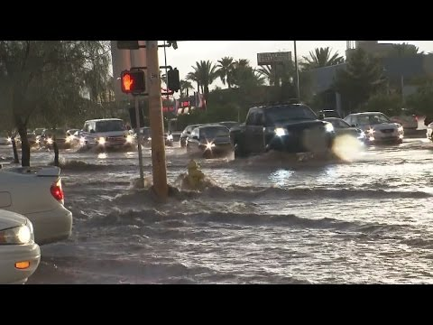 Storm brings flash flooding to Las Vegas