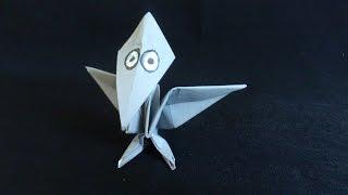 Cara Membuat Origami Dinosaurus Pteranodon
