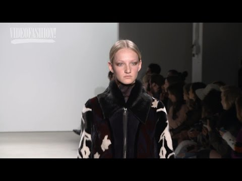 Yigal Azrouel - Fall 2016 - Silk, Suede, and Brocade!