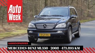Mercedes-Benz ML350 - 2008 - 473.895 km - Klokje Rond