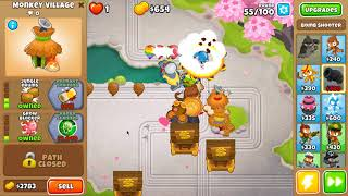 Bloons TD 6 - Pat's Pond - Half Cash - No Continues and Powers (10 1
