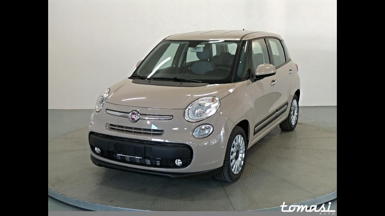 fiat 500l 1 3 multijet 85 cv pop star beige km0 2016 youtube. Black Bedroom Furniture Sets. Home Design Ideas