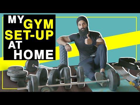 MY HOME GYM SETUP | Solid BACKUP Plan