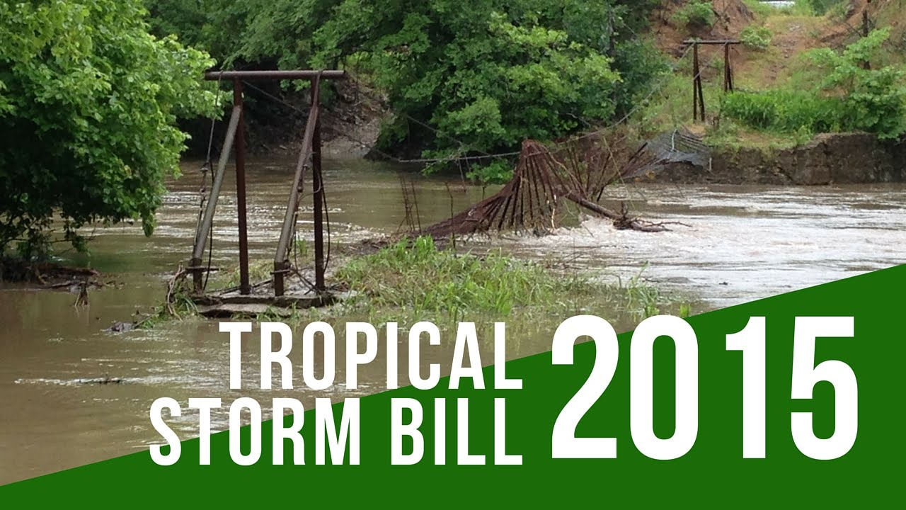 Tropical Storm Bill 2015 | just b.CAUSE