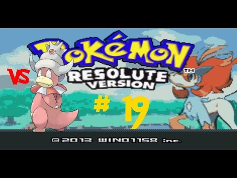 Pokémon Resolute Version! Wisdom Badge! #19