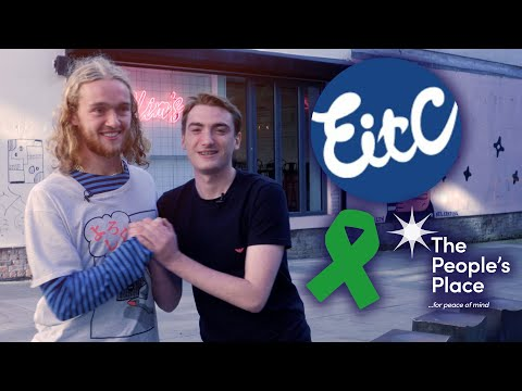 TOM DAVIES LEARNS ABOUT EITC'S MENTAL HEALTH WORK | WORLD MENTAL HEALTH DAY