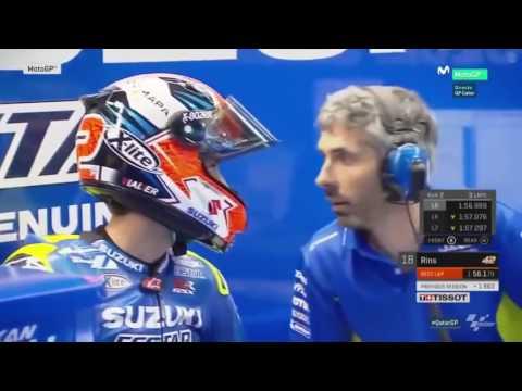 VINALES MENGGILA, MOTOGP QATAR 2017 FULL RACE,FREE PRACTICE 3 MOTOGP QATAR