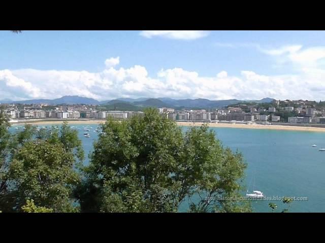ISLA DE SANTA CLARA   San Sebastián