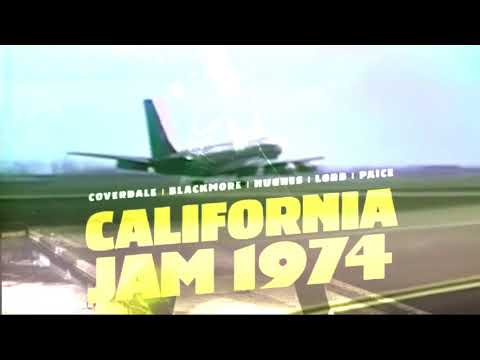 Deep Purple - Lets celebrate the California Jam from April 1974