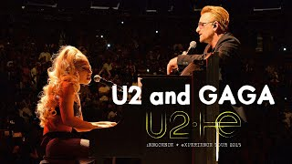 The night when LADY GAGA joined with U2 to play ORDINARY LOVE (Live from New York 2015)