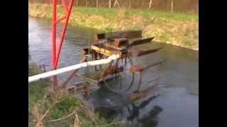Jak jest to zrobione Perpetuum mobile czyli koło wodne - pompa do wody