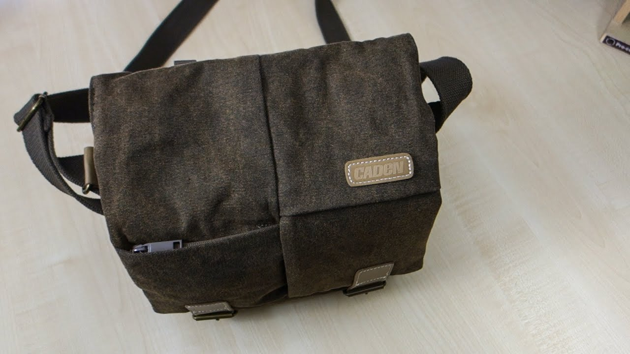 BESTEK Waterproof Canvas DSLR Camera Bag Review - YouTube