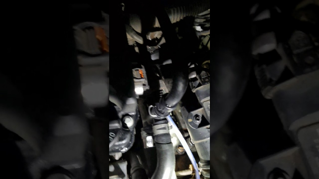 2012 Cruze Coolant Vent Hose Leak Repair
