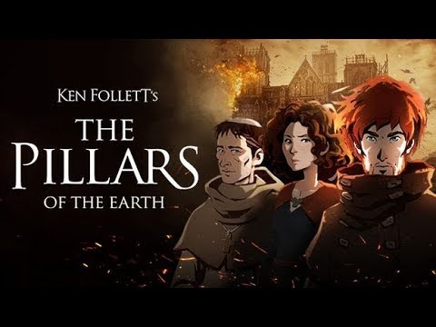 Ken Follett's The Pillars of the Earth Book 1 - Full Walkthrough - All Cutscenes - Movie