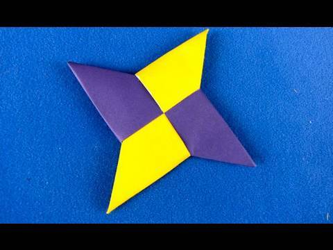 Funnycat tv for How to make a big paper star