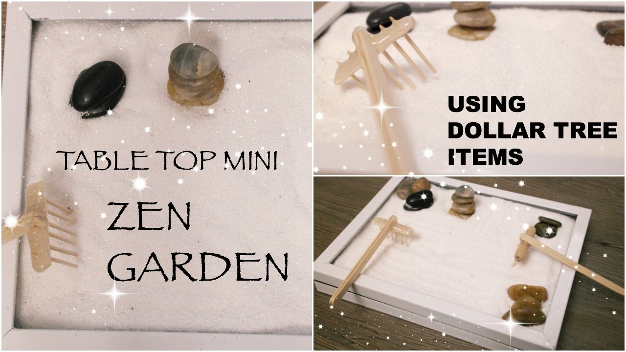 Superieur DIY Dollar Tree Zen Garden || Affordable Table Top Decor || Spring 2017