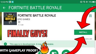 Fortnite Launched For Android 100℅ Real With Gameplay Proof! | | Download Link In Description