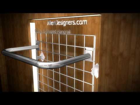 DIY Gridwall Accessories Hangrail.avi