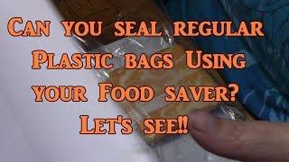 Using Regular Bags With Your Vacuum Sealer?