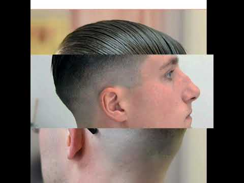 Haircut Militar Clásico Hombre Hacia Atrás 20182019