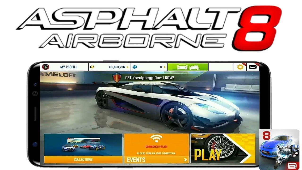 asphalt 8 hack apk latest version android 1
