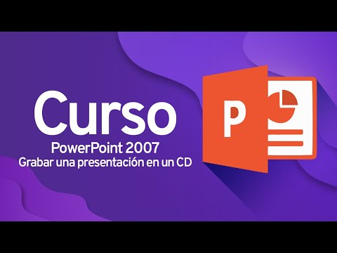 how to put a powerpoint on a cd
